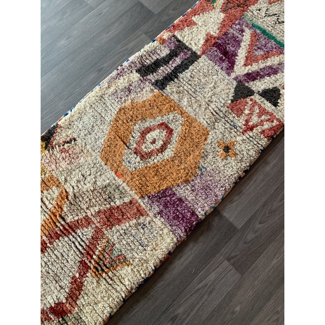 1950s Moroccan Vintage Runner-2′6″ × 11′ For Sale - Image 11 of 13