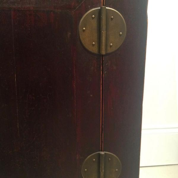 1900s Chinese Dark Wood Chest For Sale - Image 4 of 7