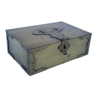 Bradley & Hubbard Brass Box For Sale