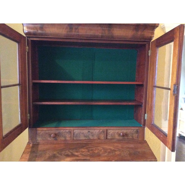 18th Century Antique Writing Cupboard For Sale - Image 10 of 11