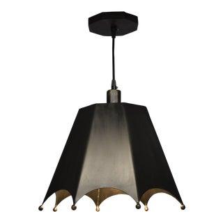 Crown Motif Pendant Light by Douglas Werner for Oblik Studio For Sale