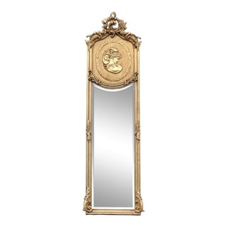 Rococo Style Wall Mirror For Sale