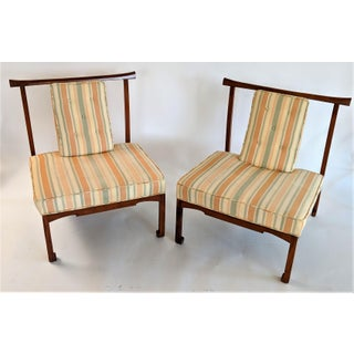 James Mont Style Asian Lounge Chairs - a Pair Preview