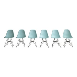Eames Plastic Side Chairs - Set of 6