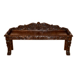 19th Century French Window Seat For Sale