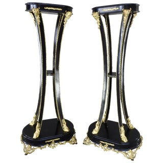 19th Century, Goat Feet Pedestals For Sale