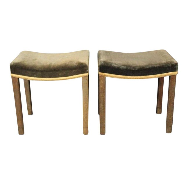 Pair of 1930s George VI Coronation Stools For Sale In New York - Image 6 of 6