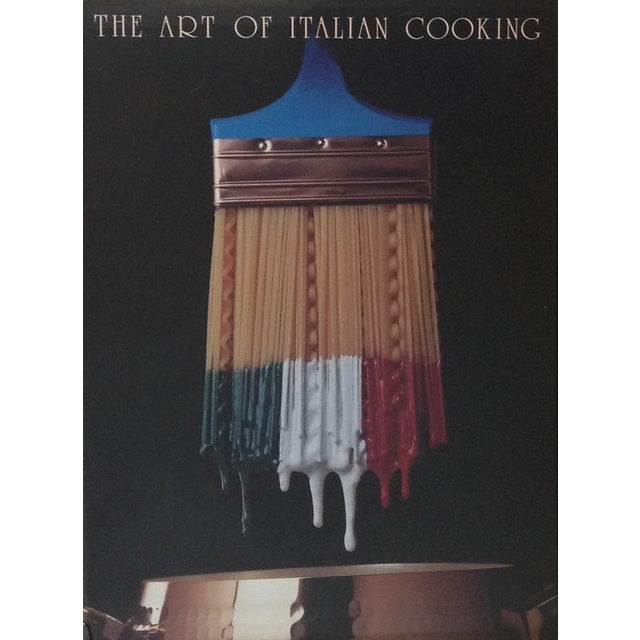 The Art of Italian Cooking Vintage Pop Art Poster For Sale