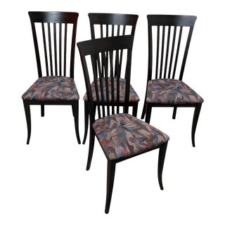 1990s Italian Dining Chairs by A. Sibau - Set of 4 For Sale