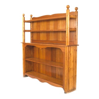 Rustic Old Hickory Pine Bar Cabinet, by Rittenhouse For Sale