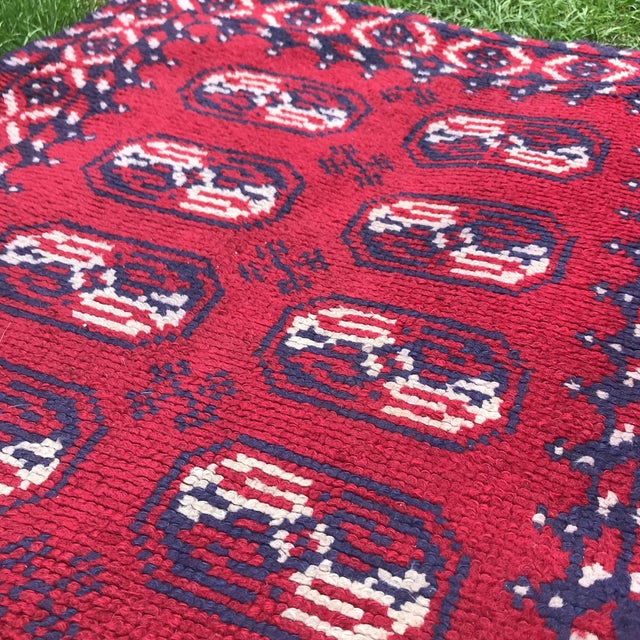 Early 21st Century Vintage Rug- 3' × 5′8″ For Sale - Image 5 of 7