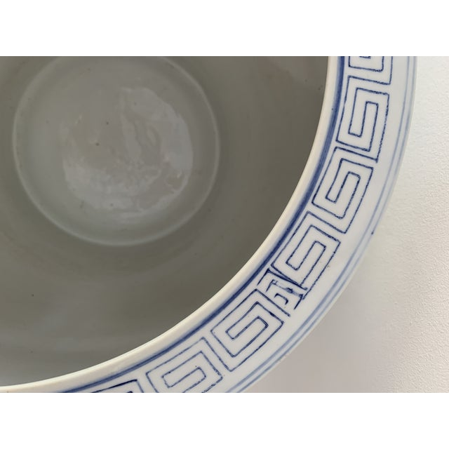 Ceramic 1970s Chinoiserie Porcelain Vase For Sale - Image 7 of 9