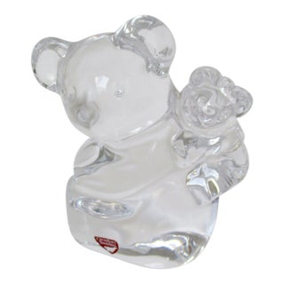 Orrefors Crystal Paperweight For Sale