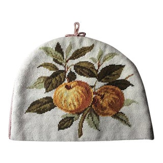 Vintage French Tapestry Tea Cozy For Sale