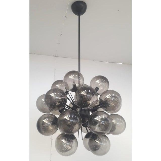 Italian Ventiquattro Sputnik Chandelier by Fabio Ltd For Sale - Image 3 of 10