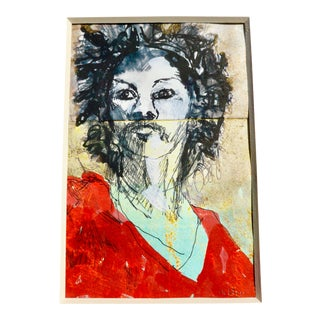 Contemporary Drawing, Jimi Hendrix For Sale