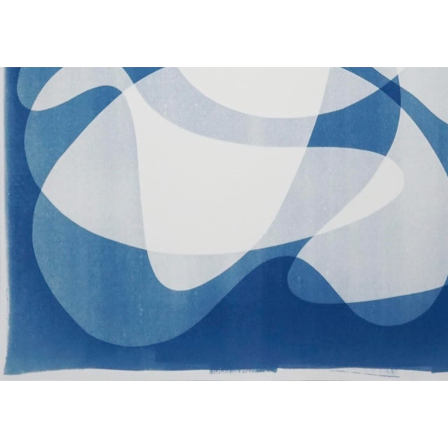 2020 Contemporary Abstract Cyanotype Cutout by Kind of Cyan For Sale In Miami - Image 6 of 11