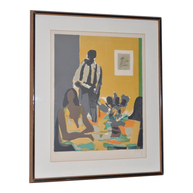Marcel Mouly (French, 1918-2008) Vintage Lithograph Signed / Numbered C.1980s For Sale