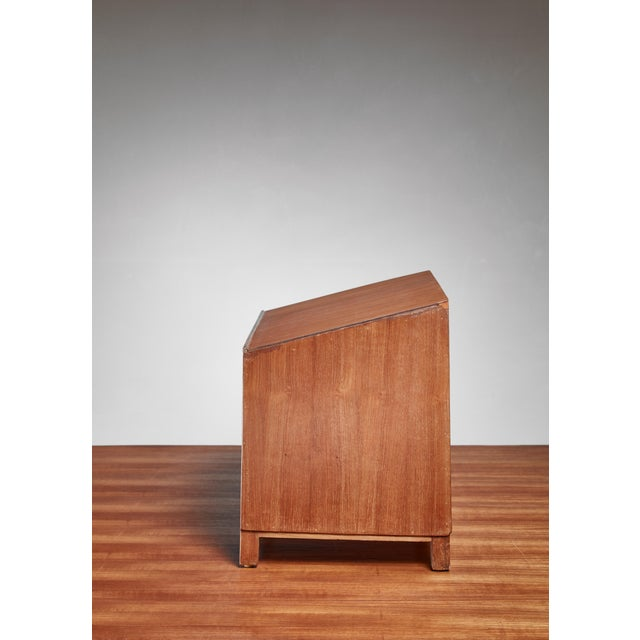 Mid-Century Modern Pierre Jeanneret Teak Lectern From Chandigarh, 1950s For Sale - Image 3 of 5