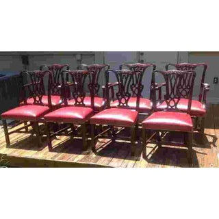 C. 1910 English Set of Eight Chairs Preview
