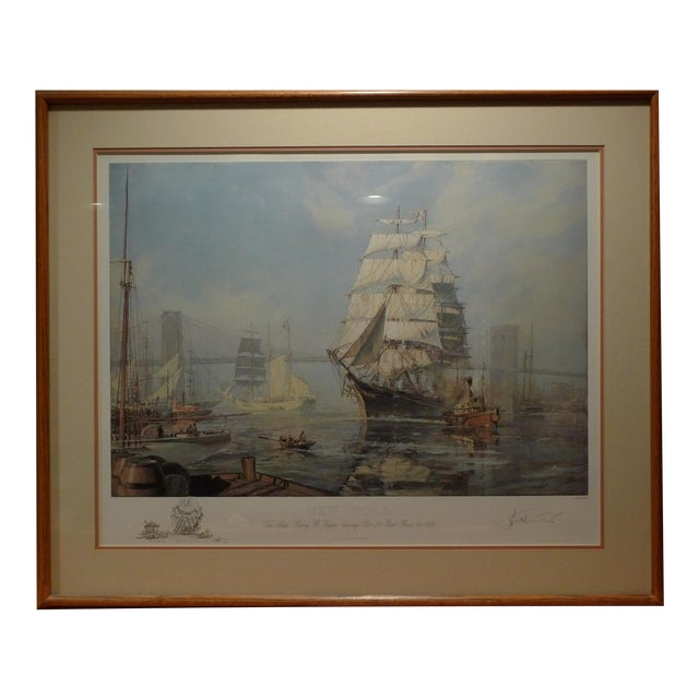 "John Stobart ""New York, Henry B. Hyde"" Limited Edition Print - Image 1 of 5"