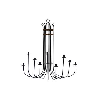 Parzinger-Style Iron Sconce For Sale