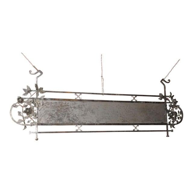 Chromed Iron Hanging Sign - Image 1 of 9