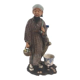 19th Century Chinese Mudman Figure For Sale