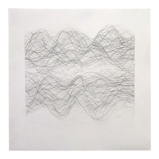 """Margaret Neill """"Tempo 1"""" Drawing For Sale"""