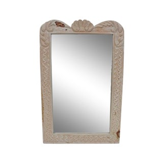 Hollywood Regency Hand Carved Wall Mirror