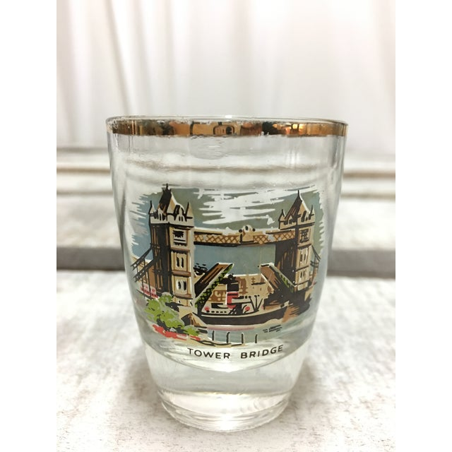 Mid-Century London Shot Glasses - Set of 4 - Image 4 of 8