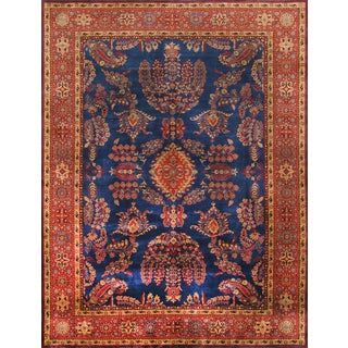 "Pasargad Sarouk Collection Rug - 12'3"" X 18'2"" For Sale"