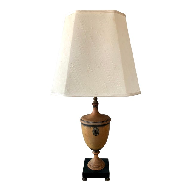Antique Knife Urn Table Lamp For Sale