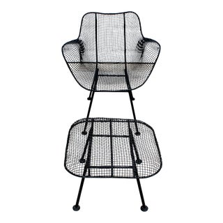 """Russell Woodard """"Sculptura"""" Lounge Chair and Ottoman For Sale"""
