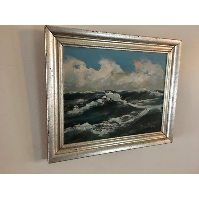 Original Seascape Oil Painting - Image 3 of 6