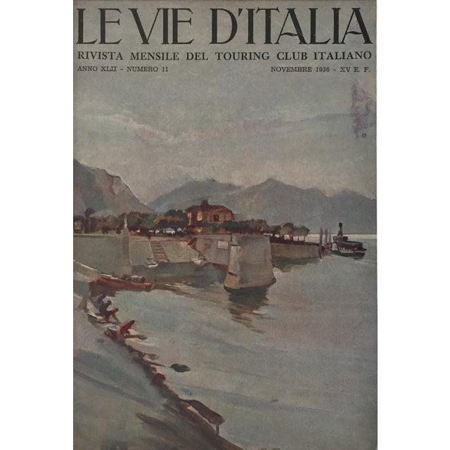 1936 Italian Travel Advertisement, Le Vie d'Italia - Image 3 of 4