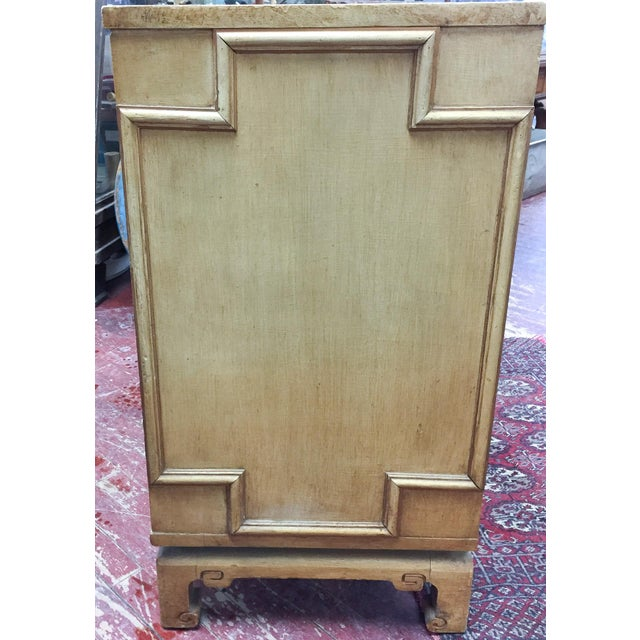 Vintage Hollywood Regency, Asian Style Two Door Cabinet - Image 2 of 8