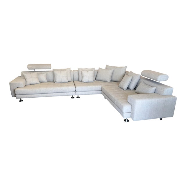 Cepella Left Seated Sectional by Scandinavian Designs For Sale