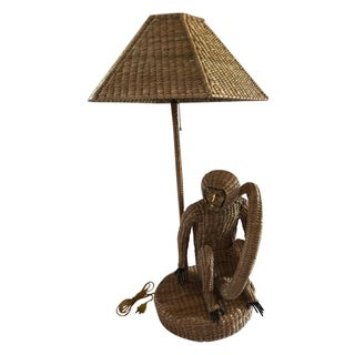 Mario Lopez Torres Monkey Table Lamp For Sale