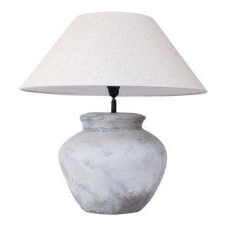 Large Terracotta Table Lamp
