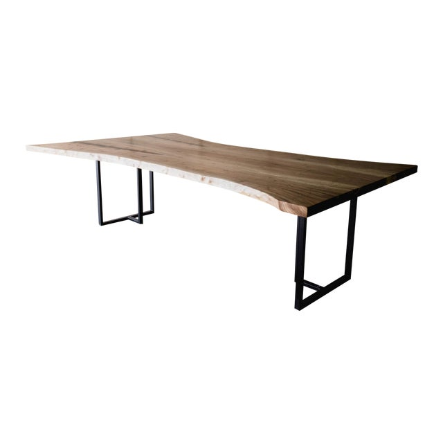 Siberian Elm Conference Table For Sale
