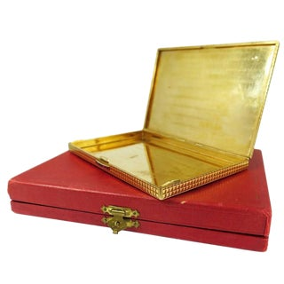 Cartier Paris Ruby Gold Box