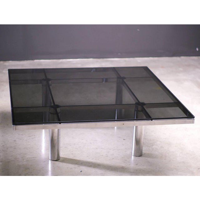 Silver Andre Coffee Table Designed by Afra and Tobia Scarpa for Knoll International For Sale - Image 8 of 8