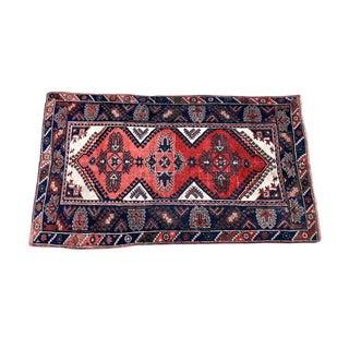 Antique Turkish Kilim Wool Rug - 4′ × 6′6″ For Sale