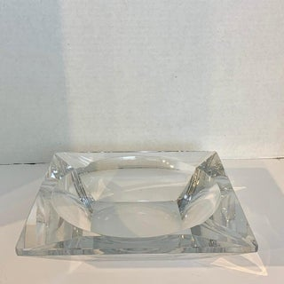 French Modern Crystal Cigar Ashtray Preview