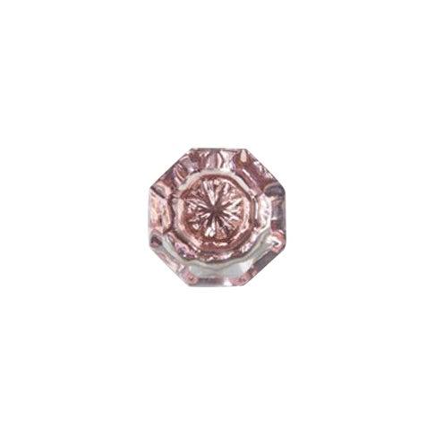 Rose Pink Glass Knobs - Set of 10 - Image 6 of 6