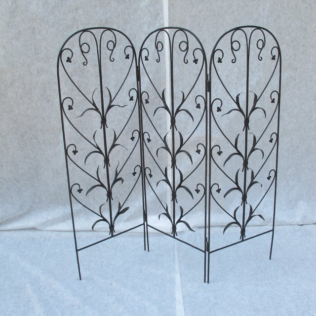 Early 20th-C. Wrought Iron Screen - Image 2 of 9