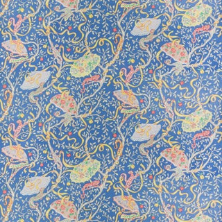 Vintage Bassett McNab Cameleon Jardin Fabric, 1 Yard For Sale