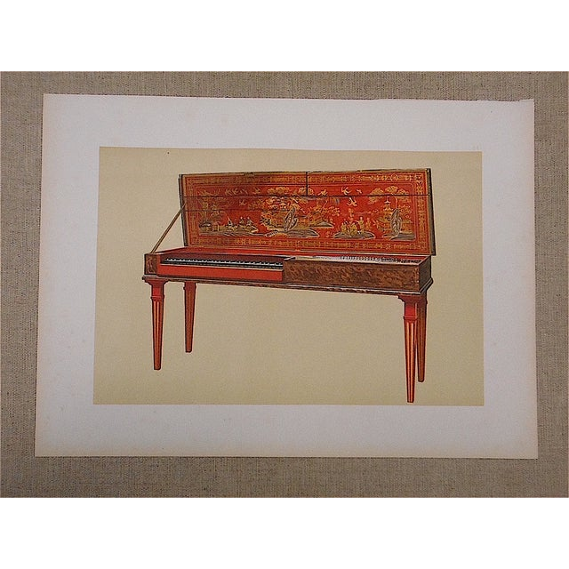 This chromolithograph (stone lithograph in colors where each color was laid in with a lithographic stone) is from an image...