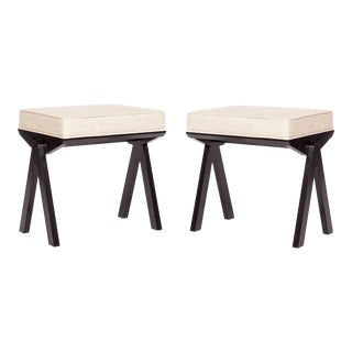 Pair of Ivan Stools For Sale